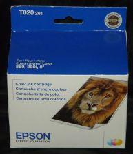 Buy Epson T020 201 COLOR ink jet cartridge photo stylus printer 880 880i - TO20 201