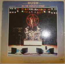Buy RUSH ~ALL THE WORLDS A STAGE~ SRM-2-7508 DOUBLE LP 1976 TRI-FOLD VINYL