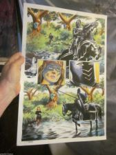 Buy ORIGINAL Comic Art OUTLAW PRINCE Michael KALUTA Thomas YEATES Painted art PG 46