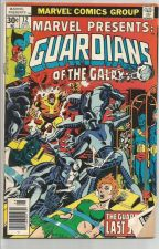 Buy Marvel Presents GUARDIANS OF THE GALAXY #12 Marvel Comics Comic Book 1977 Stern