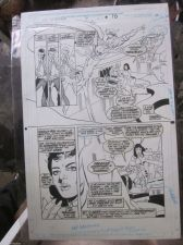 Buy Original Comic Art Marvel of Dr. Strange #31 Page #10 Silver Surfer