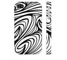 Buy Cho Black White Iphone 4/4S Phone Case