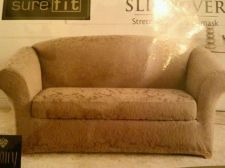 Buy Surefit Slipcover Jacquard 2 Pc Loveseat New