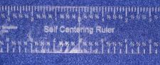"Buy Laser Cut Self-Centering Ruler - Acrylic ~1/4"""" Thick - Quilting Template"