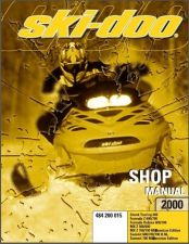 Buy 2000 Ski-Doo Tundra R Scandic Touring Formula MX Z Service Repair Shop Manual CD