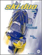 Buy 2002 Ski-Doo Mach Z Sport / Tech Plus Service Repair Shop Manual CD