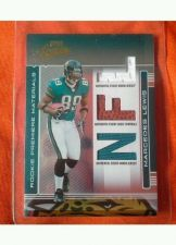 Buy NFL MERCEDES LEWIS 2006 PLAYOFF ABSOLUTE TRIPL GAME WORN RELIC /849 MNT