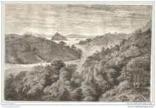 Buy JAPAN - PAPENBERG ISLAND,NEAR NAGASAKI - engraving from 1866