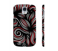 Buy Jasch Red White Black Samsung Galaxy S4 Phone Case