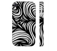 Buy Doughty Black White Iphone 4/4S Phone Case