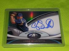Buy MLB CODY SCARPETTA 2013 TOPPS PLATINUM CERTIFIED AUTOGRAPHED REFRACTOR MNT