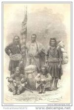 Buy INDIA - LOCAL CARRIERS OF M. LEJEAN - engraving from 1868