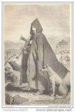 Buy BOSNIA - SHEPHERD FROM THE BORDER - engraving from 1870