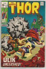 Buy THOR #173 Marvel Comics Ulik 1970 Silver Age STAN LEE JACK KIRBY