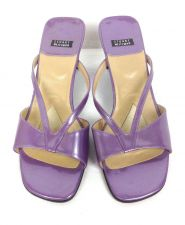 Buy Stuart Weitzman Shoes 8 Purple Leather Sandals