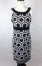Buy London Times Dress M Womens Black Sleeveless