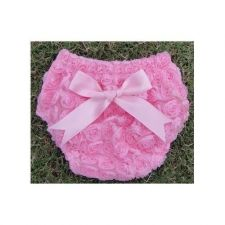 Buy Pink Rosette Bloomers W Bow pink Baby girls New