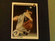 Buy 1990 upper deck mike flanagan card 483 blue jays baseball