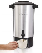 Buy NEW Hamilton Beach 42-Cup Coffee Tea Hot Beverage Urn Silver