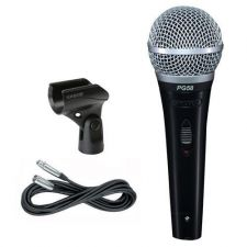 Buy Shure Handheld Microphone w/Cable, Pouch, Clip PG 58XLR NEW