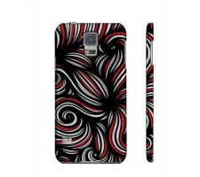 Buy Christiana Yellow Red Black Samsung Galaxy S5 Phone Case
