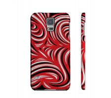 Buy Guay Red White Black Samsung Galaxy S5 Phone Case