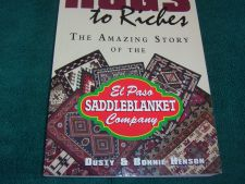Buy Rugs to Riches : The Amazing Story of the El Paso Saddle Blanket Company by...
