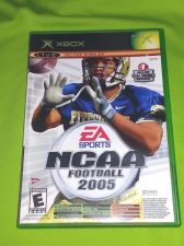 Buy NCAA Football 2005 MICROSOFT XBOX TESTED AND WORKING