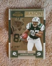 Buy Laveranues Coles 2008 DONRUSS Playoff Contenders #69 New York Jets NM-MT