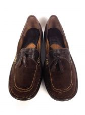Buy Born Shoes 7.5 Womens Brown Leather Loafers