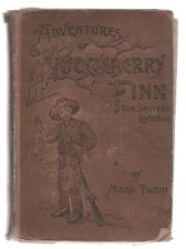 Buy Adventures of Huckleberry Finn Tom Sawyer's Comrade 1891 HC