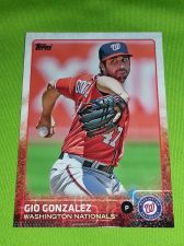 Buy MLB GIO GONZALEZ NATIONALS SUPERSTAR 2015 TOPPS GLOSSY #44 GEM MNT