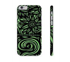 Buy Starns Green Black Flowers Floral Botanical Iphone 6 Phone Case