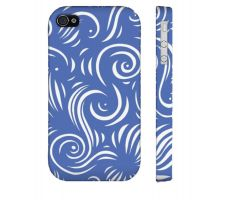 Buy Aipperspach Blue White Iphone 4/4S Phone Case