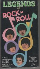 Buy LEGENDS OF ROCK N ROLL featuring:THE BEATLES & ELVIS VHS NEW
