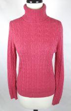 Buy J Crew Sweater S Womens Pink Wool Long Sleeve