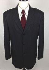 Buy Donna Karan Blazer Mens 42 L Gray Wool Sport Coat Jacket