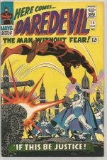 Buy DAREDEVIL #14 Marvel Comics 1st Print & series VF/NM Stan Lee / Romita