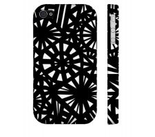 Buy Vanliere Black White Iphone 4/4S Phone Case