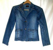 Buy EUC women's, sz.M, Street Vibe's blue, long sleeve, denim, button down, jacket
