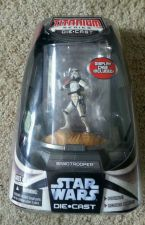 Buy FACTORY SEALED STAR WARS TITANIUM SERIES DIE CAST SAND TROOPER W/DISPLAY CASE
