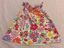 Buy Baby Gap Girls Floral Sun Dress Sleeveless Size 6-12m
