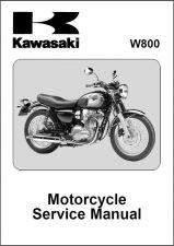 Buy 11-12 Kawasaki W800 Service Repair Workshop Manual CD .... W 800
