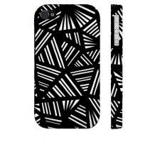 Buy Dao Black White Iphone 4/4S Phone Case