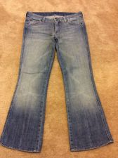 Buy 7 For All Mankind A Pocket Denim Blue Jeans Women Size 30