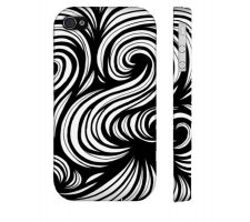 Buy Stoesser Black White Iphone 4/4S Phone Case