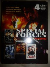 Buy Special Forces Extreme - 4 DVD Collectors Pack Wolverine/ Shadow Warriors + MORE