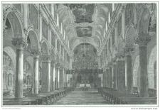 Buy GERMANY - INTERIOR VIEW OF DOME IN HILDESHEIM - engraving from 1889