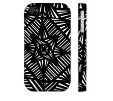 Buy Sebeniecher Black White Iphone 4/4S Phone Case