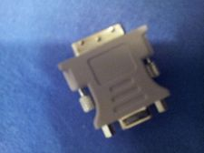 Buy DVI 12+5 Pin Male to VGA 15 Pin Female Adapter